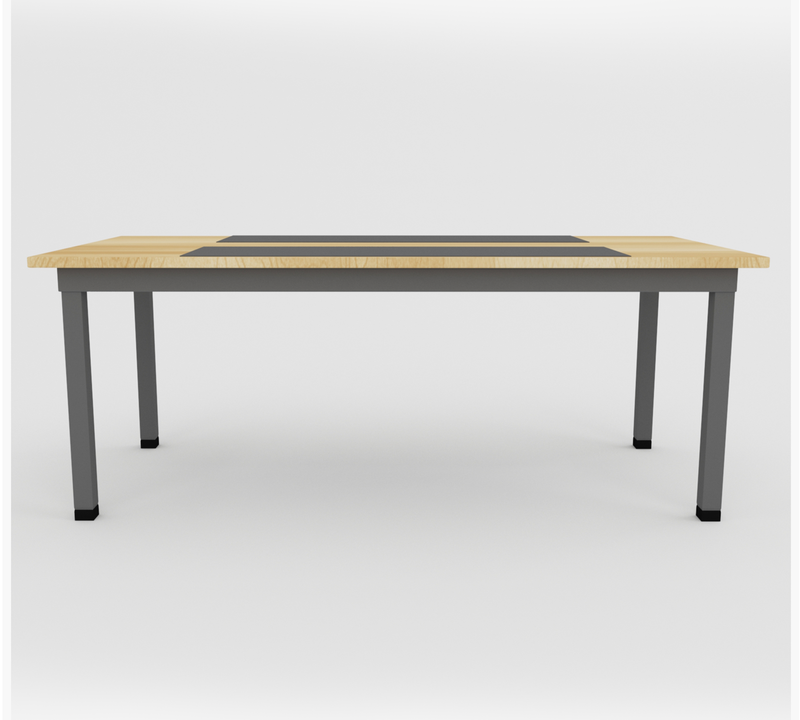 Meeting Table with 25mm thick Board and laminate on Top