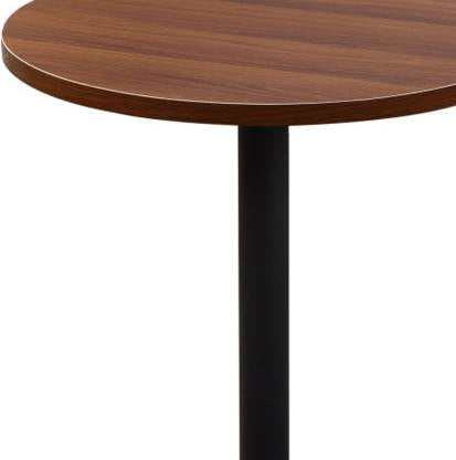 Cafe Table with Metal Base