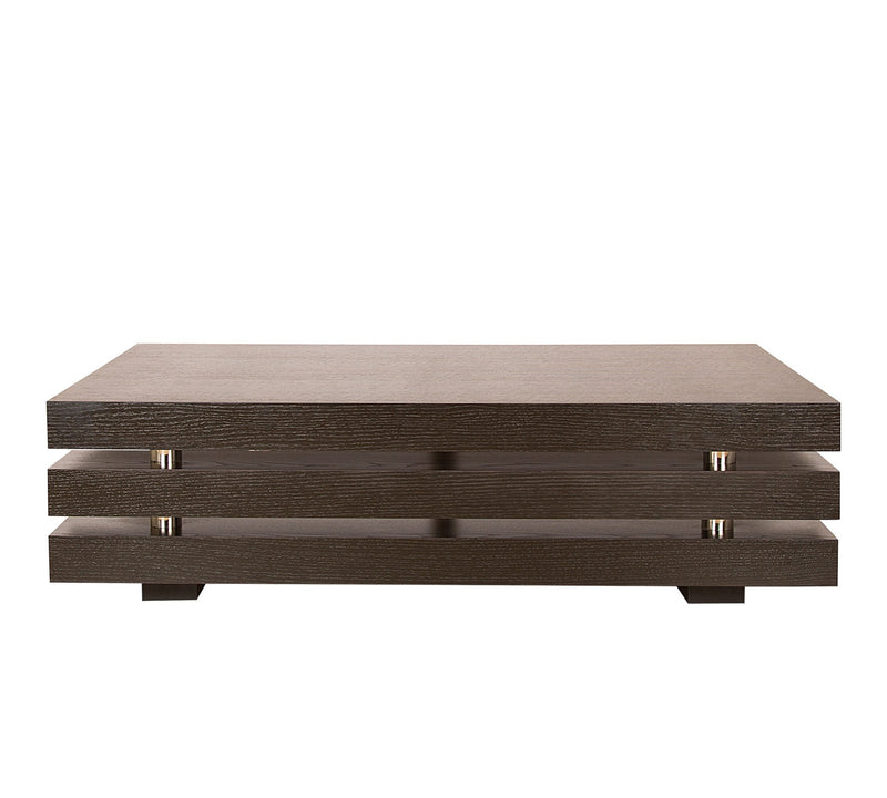 Center Table with partical board base and  36 mm thick particle board and pvc edge banding finish
