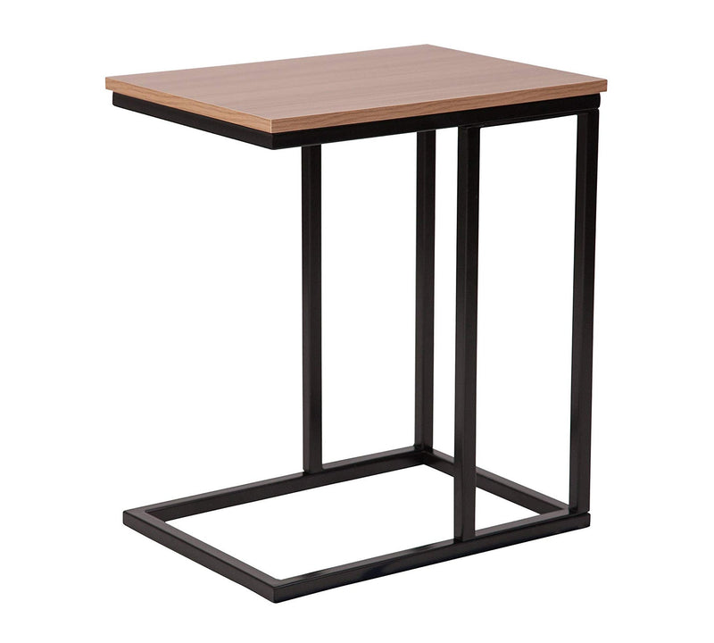 Side Table with metal frame 25x25 pipe