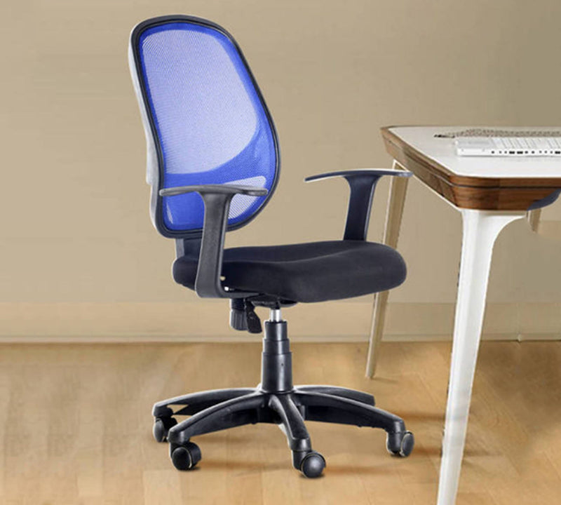 Office chair with nylon base