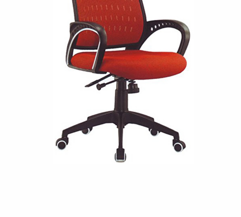 Med back Office Chair with Nylon base