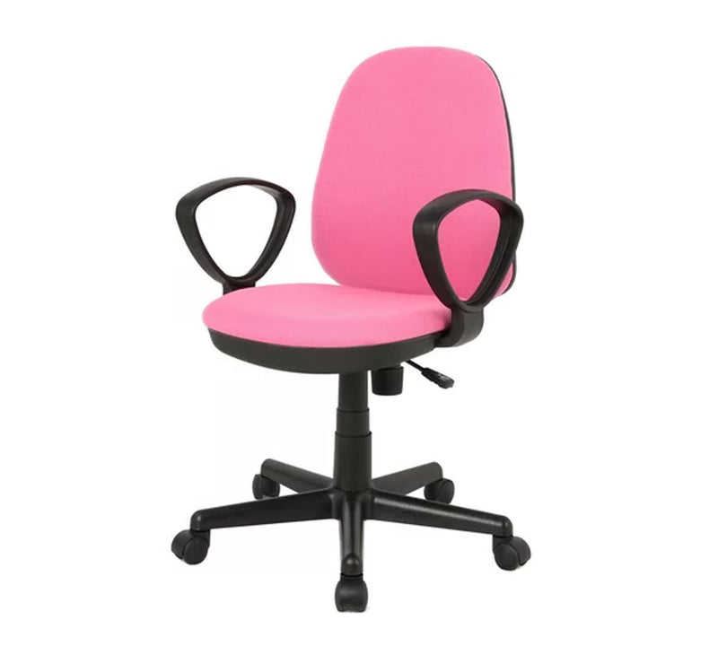 Med back Office Chair with nylon base set of 2