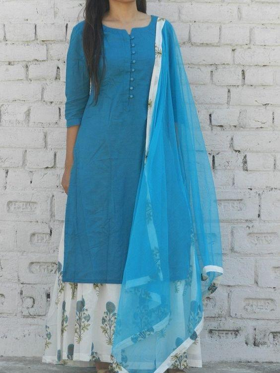 Florence Egyptian Voile salwar suit