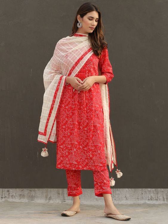 OUTFITS FOR WOMEN'S SALWAR SUIT PURE COTTON