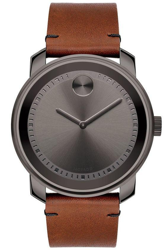 Wear Watches with Brown Leather Bands
