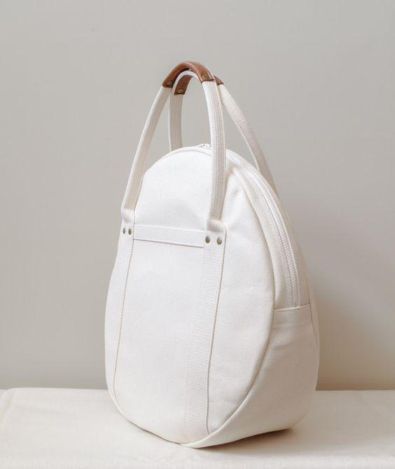 best white hand bag