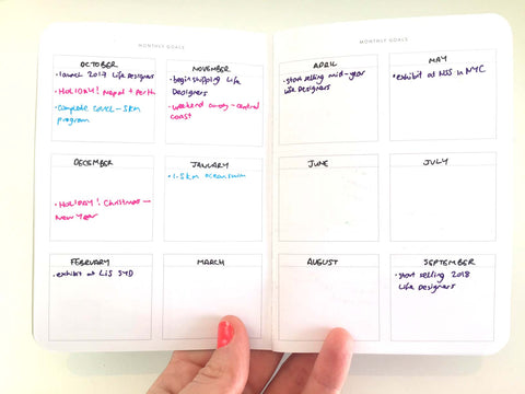 Amelia Lane Monthly Planner