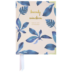 2019 Amelia Lane Life Designer, Compact Weekly (Ocean Leaves)