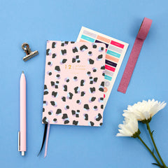 Amelia Lane Monthly Planners (Undated, Leopard)