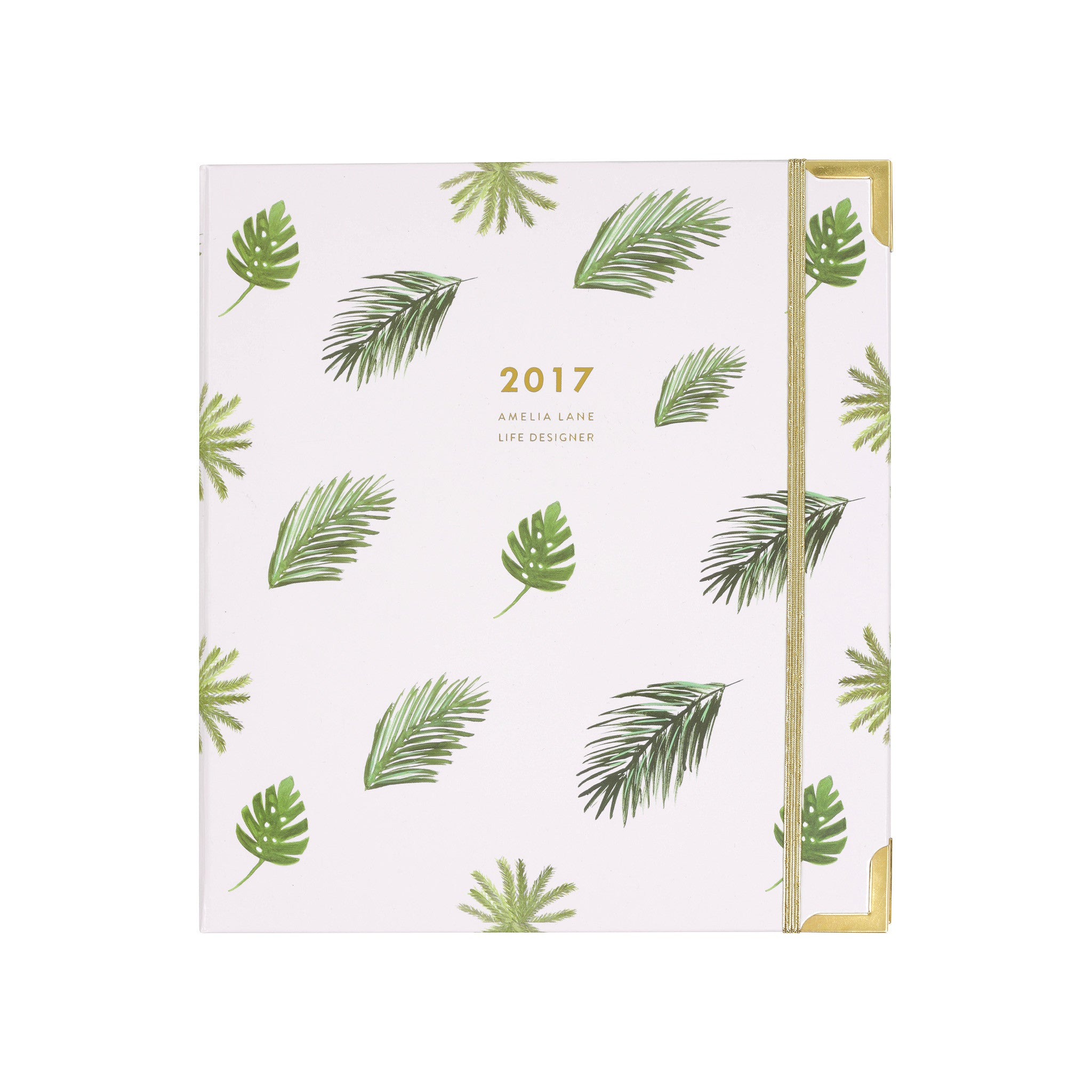 2017 Amelia Lane Life Designer {Signature, Palm Leaf Pattern}
