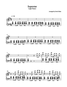 Superstar (Lupe Fiasco) Piano Sheet Music