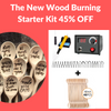 Wood burning Starter Kit