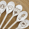 Mr. Woodware - Wooden Kitchen Spoons 12 Inch – Set of 12