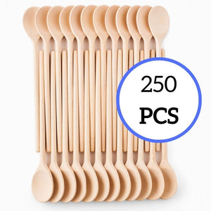 Mr. Woodware - Craft Wooden Spoons Bulk – 12 Inch – Set of 250