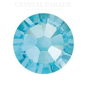 Swarovski SS7 (2.2mm) No Hot Fix Crystals - Pack of 100 Aquamarine
