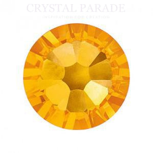 Swarovski SS5 (1.8mm) No Hot Fix Crystals - Pack of 100 Sunflower