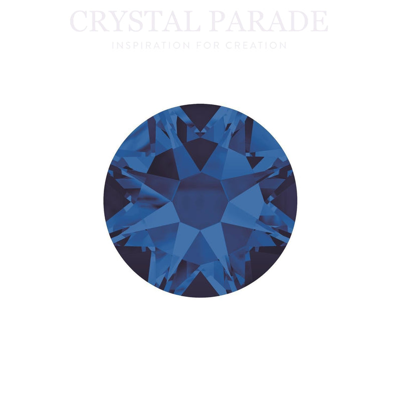 Swarovski Xirius SS16 (4mm) No Hot Fix Crystals - Pack of 100 Capri Blue