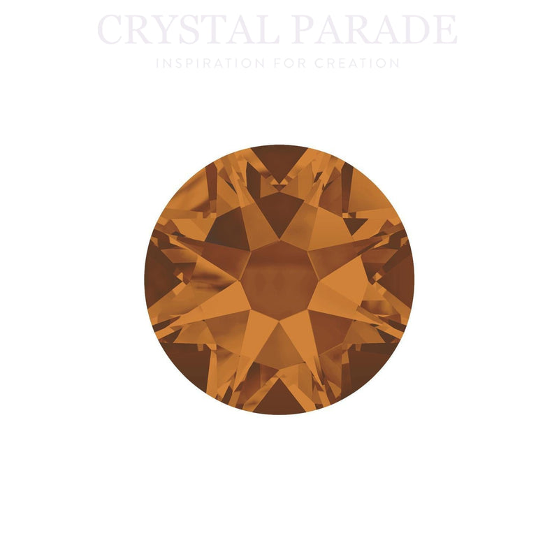 Swarovski Xirius SS30 (6mm) Non Hotfix Crystals - Pack of 288 Copper