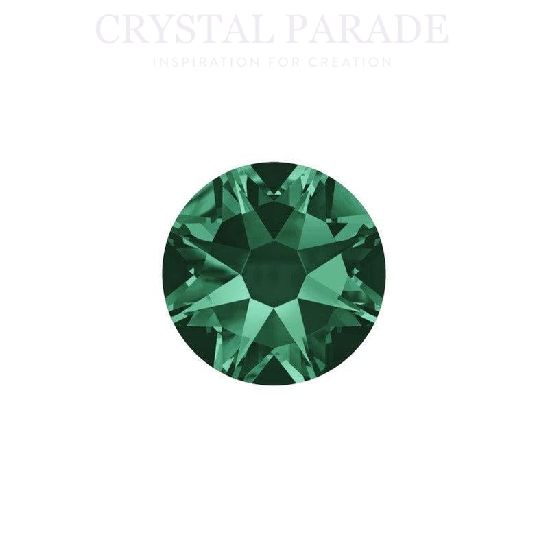 Swarovski Xirius SS16 (4mm) Hotfix Crystals - Pack of 1440 Emerald