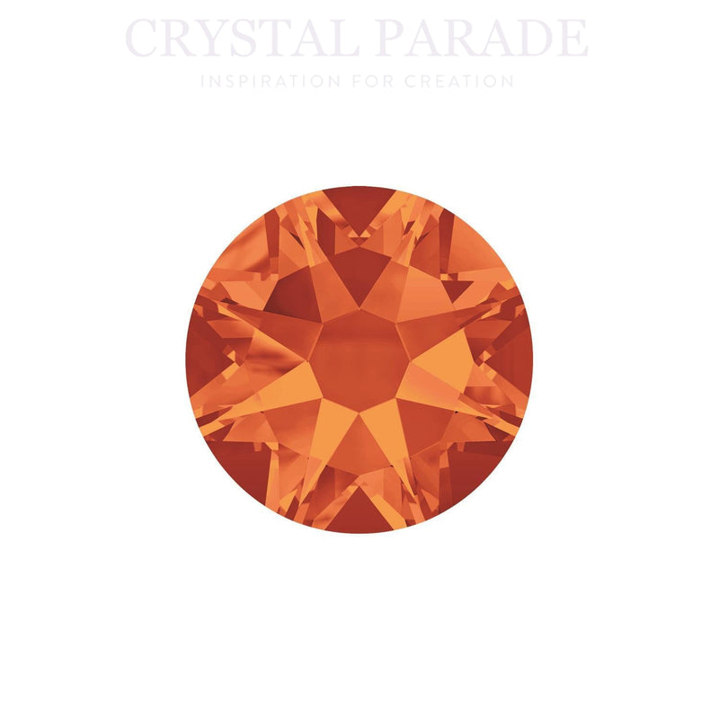Swarovski Xirius SS16 (4mm) No Hot Fix Crystals - Pack of 100 Fireopal