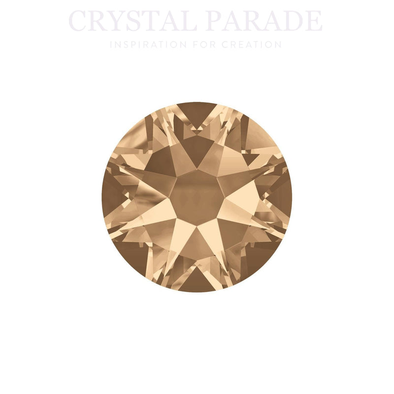 Swarovski Xirius SS20 (5mm) No Hot Fix Crystals - Pack of 100 Golden Shadow