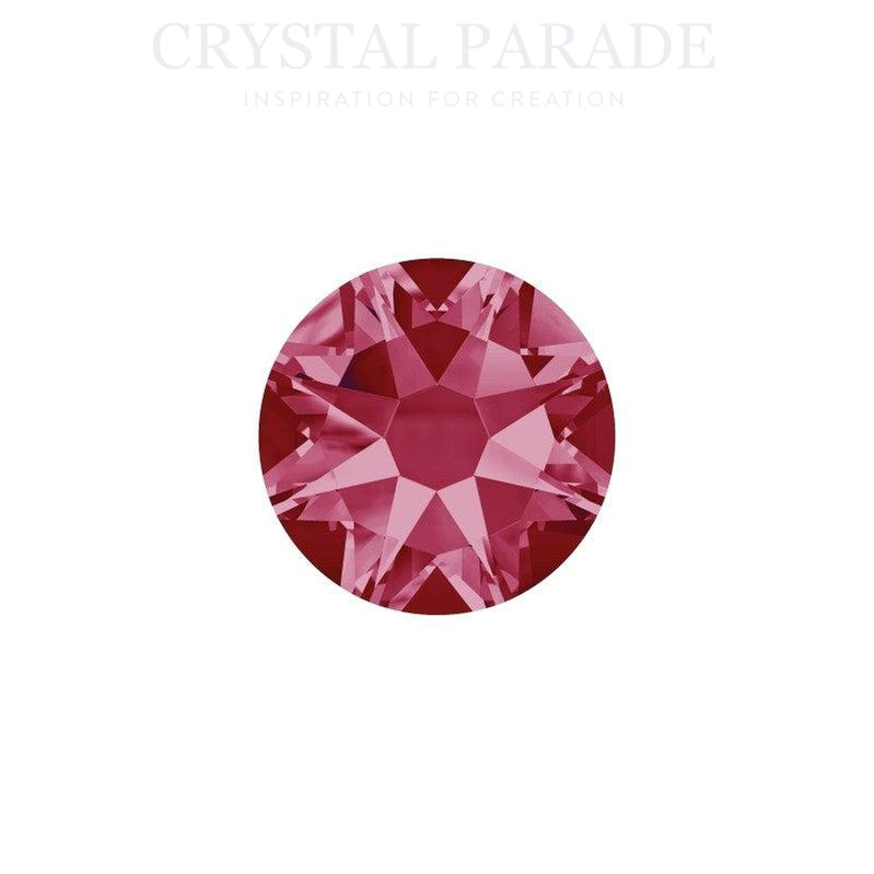 Swarovski Xirius SS34 (7mm) No Hot Fix Crystals - Pack of 144 Indian Pink