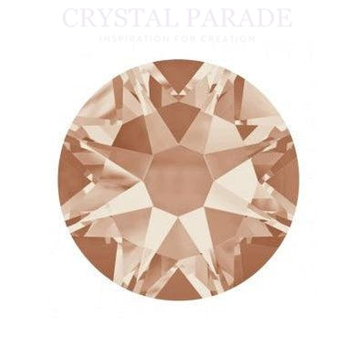 Swarovski Xirius SS16 (4mm) Hot Fix Crystals - Pack of 1440 Light Peach