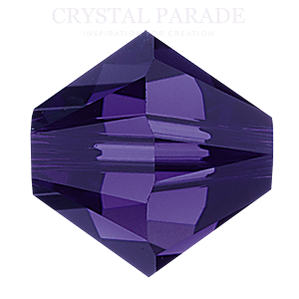 Swarovski 4mm Xilion Beads Purple Velvet - Pack of 1440