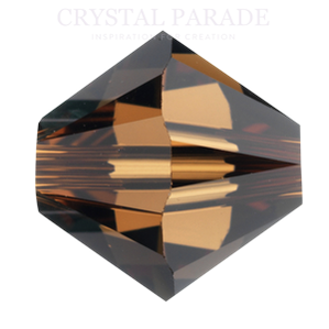 Swarovski 3mm Xilion Beads Smoked Topaz - Pack of 1440