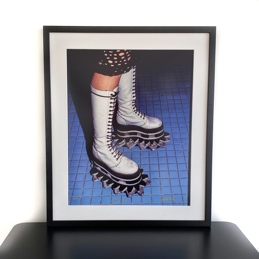 Platform Shoes - Archival Photo Print 16x20 with Frame - Limited Edition - Signed by Steve Eichner