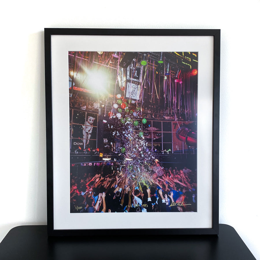 Money Drop - Archival Photo Print 16x20 with Frame - Limited Edition - Signed by Steve Eichner