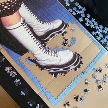 Load image into Gallery viewer, Platform Shoe - Jigsaw Puzzle 500 Pieces - Original Photo by Steve Eichner