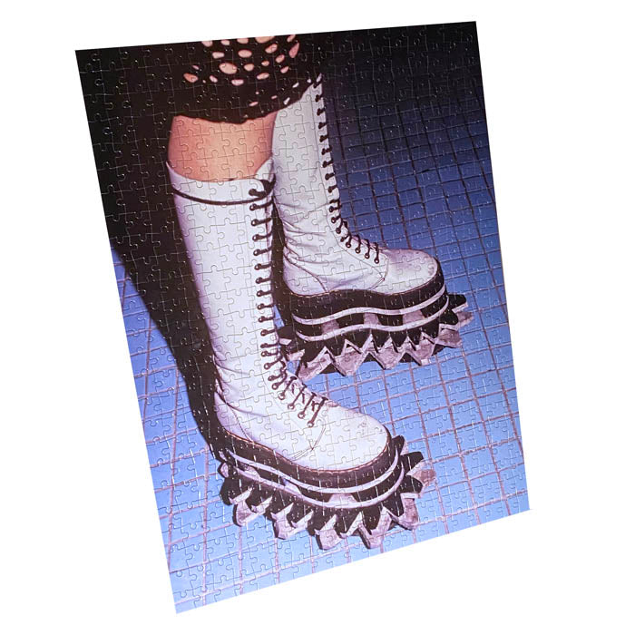 Platform Shoe - Jigsaw Puzzle 500 Pieces - Original Photo by Steve Eichner
