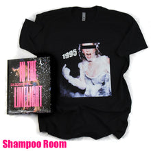 Load image into Gallery viewer, In The Limelight - Hardcover Photo Book And One Original T-Shirt photographed by Steve Eichner - Book Signed by Steve Eichner - NYC Nightlife in the 90s