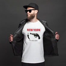 Load image into Gallery viewer, T-Shirt New York You Are Here - Original Design Photographed by Steve Eichner