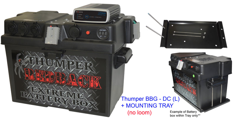 Battery box with BCDC Charger