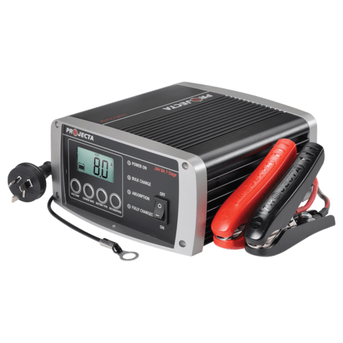 Projecta Intelli-Charge 240 Volt Battery Charger 24VOLT 8AMP (IC800-24) - Home of 12 Volt Online