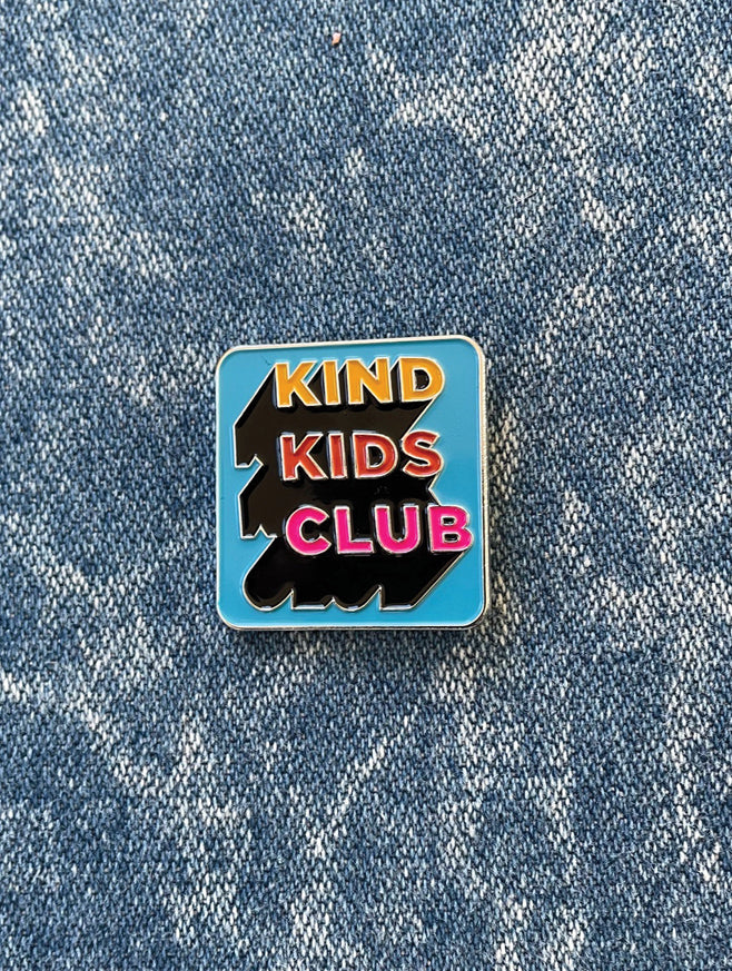 Kind Kids Club Soft Enamel Pin