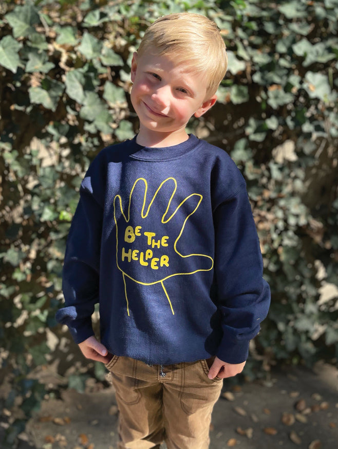 Be The Helper Sweatshirt