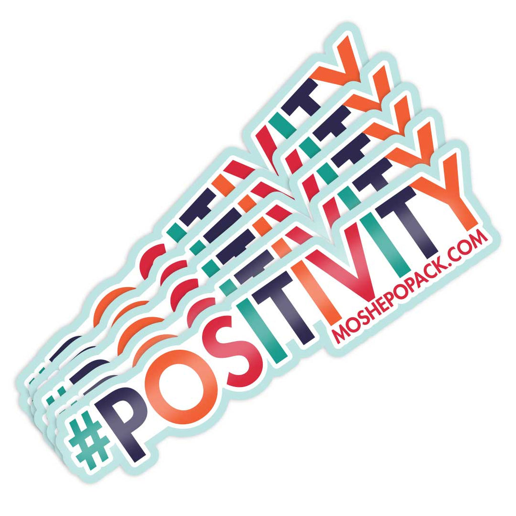 #POSITIVITY Sticker 5 Pack