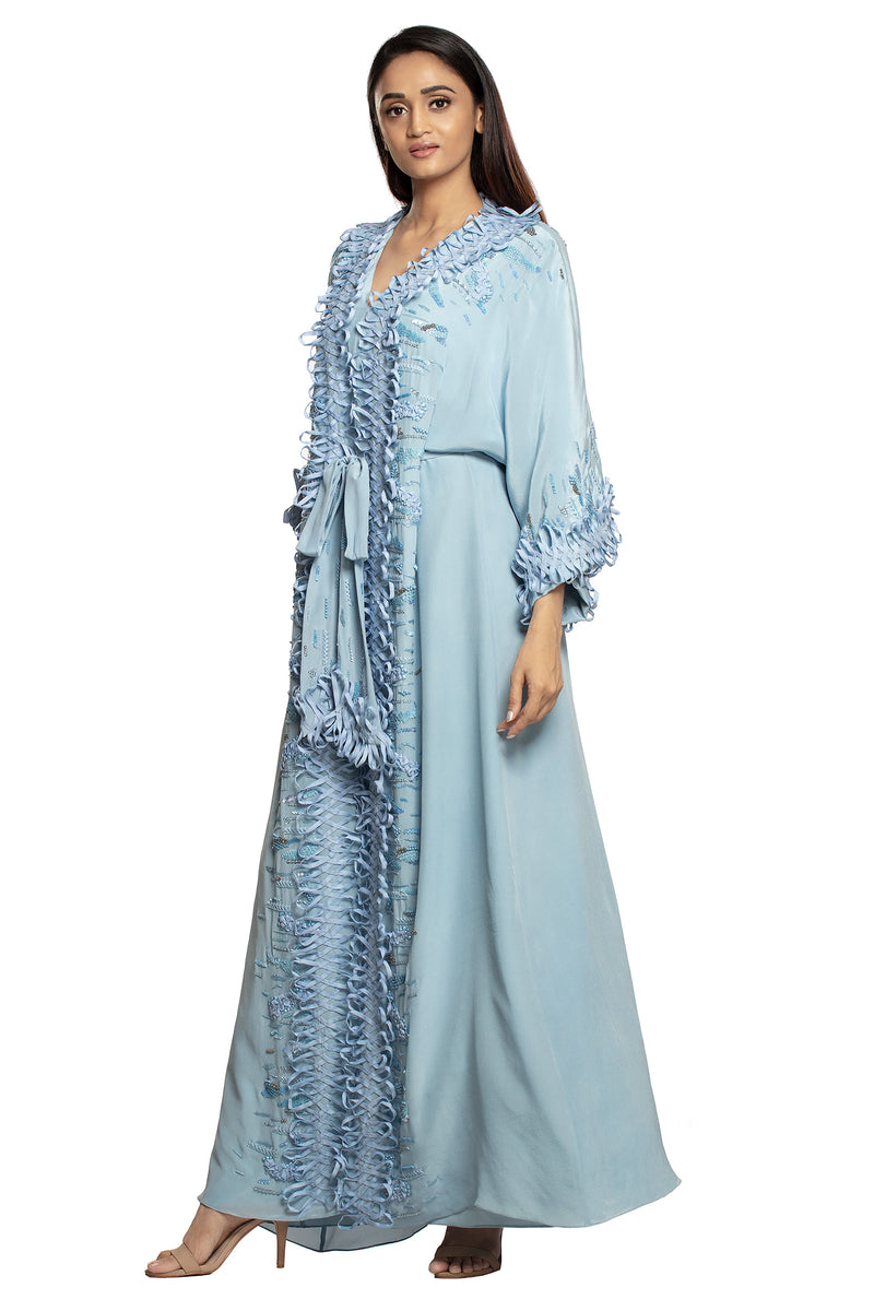 ICE BLUE KAFTAN