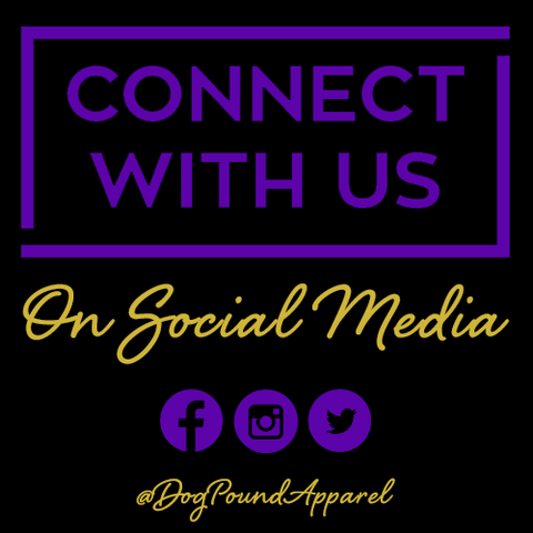 Follow @DogPoundApparel on our social media platforms: Instagram, Facebook and Twitter. We create custom embroidered Omega Psi Phi Apparel.