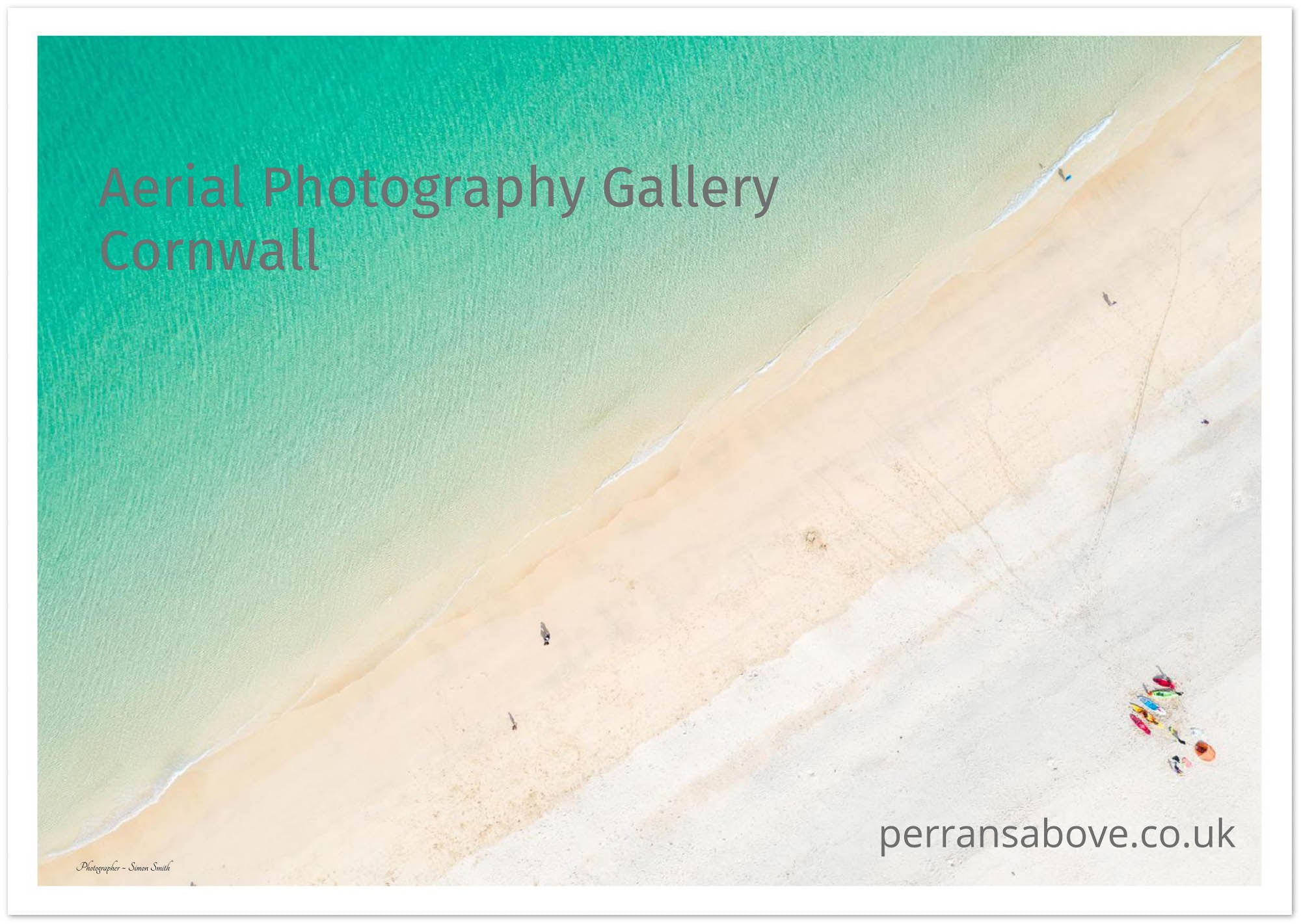 porthmeor from above by simon smith
