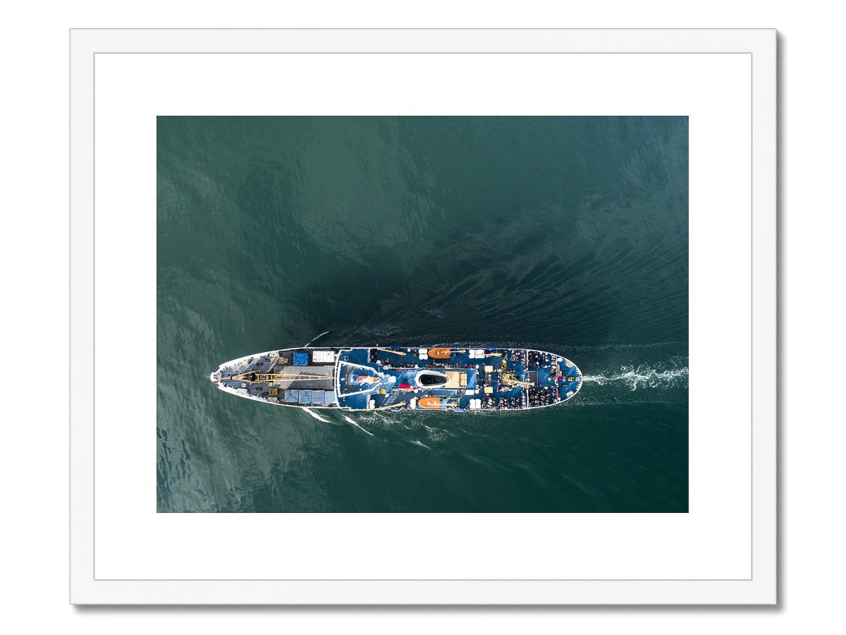 scillonian from above by duncan scobie