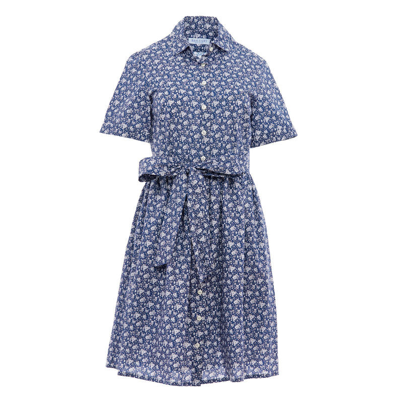 Coupe Dress in Blue Floral