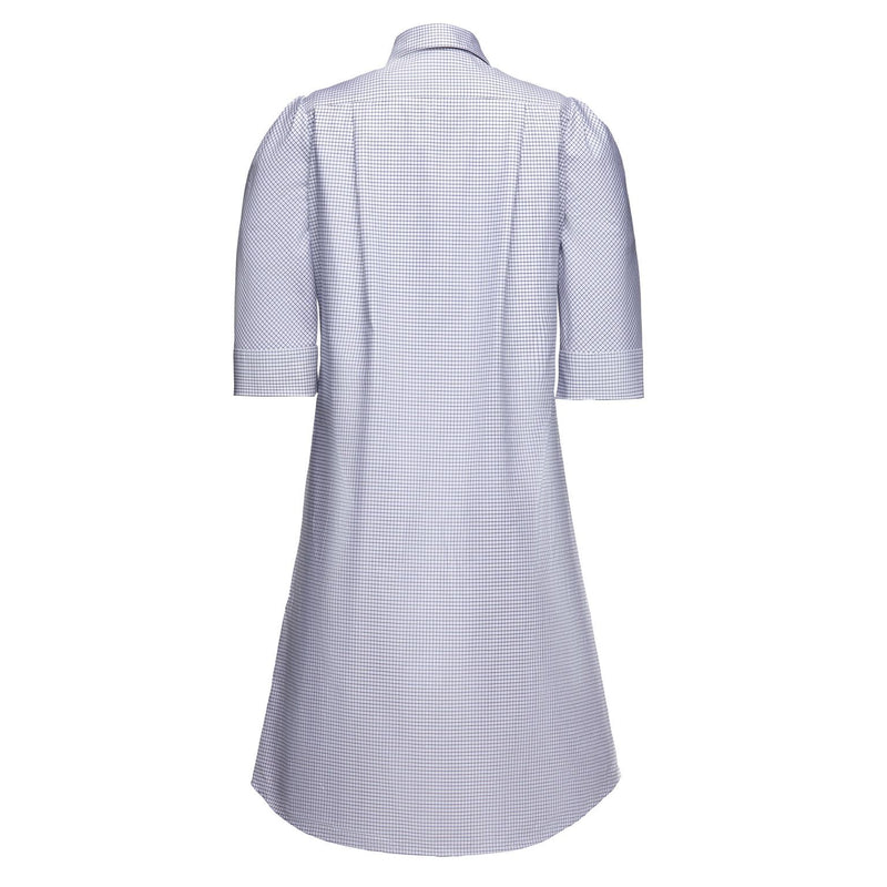Tracy Dress in Blue Tattersal
