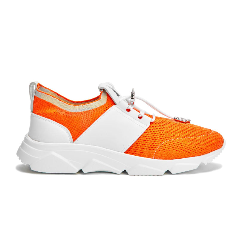 Perla Mesh Sneaker in Orange