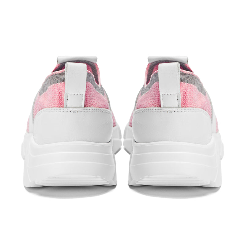 Perla Mesh Sneakers in Pink