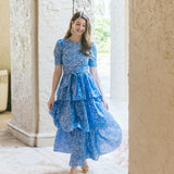 Stacy Dress in Daydreamer Blue Floral